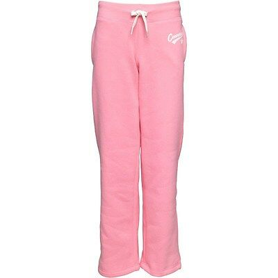 Converse All Star Pink Joggers Trousers Girls All Sizes, Tracksuit Bottoms- New