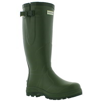 Hunter Original Balmoral Classic Wellington Mens Green Wellies Boots Size 6-12