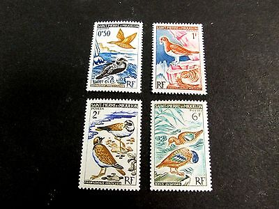 St. Pierre & Miquelon  1963 Bird Issue Complete(4 Values)Very Fine Mint Nh