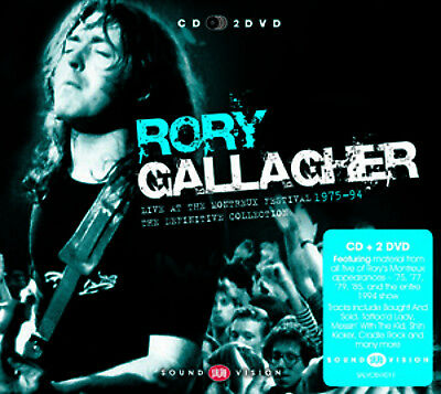 Rory Gallagher : Live at Montreux: 1975-1984 CD (2013) ***NEW***
