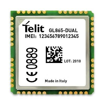 5pcs of Telit GL865-DUAL Low Cost Dual Band GSM/GPRS Wireless Module