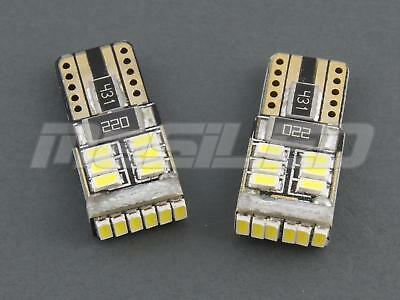 2 Bombillas led coche moto Canbus T10 W5W 18 smd 4010 SAMSUNG 5000K - led bulbs