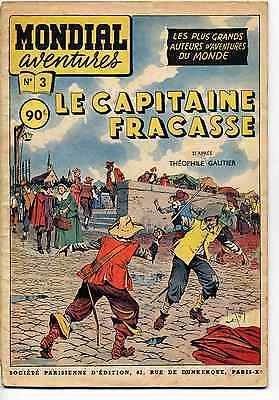 Le Capitaine Fracasse R. Giffey T. Gautier Ed. SPE 1954 TBE