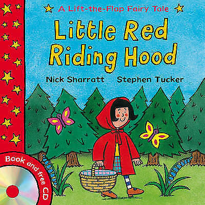 Lift-the-flap Fairy Tales: Little Red Riding Hood by Stephen Tucker (Paperbac...