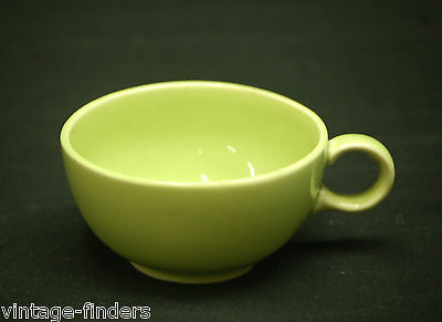 """Old Vintage Ranch Style ~ Lime Yellow by Salem 2"""" Flat Cup Discontinued Pattern"""