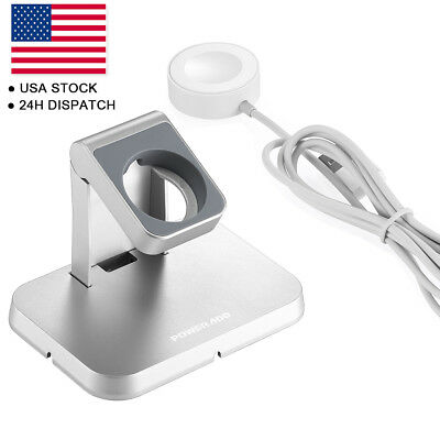 Magnetic Charger Wireless Charging Stand Dock For Apple Watch 38mm/42mm edition