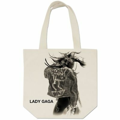 New: LADY GAGA - Born This Way (Negative Cover) BEIGE TOTE BAG