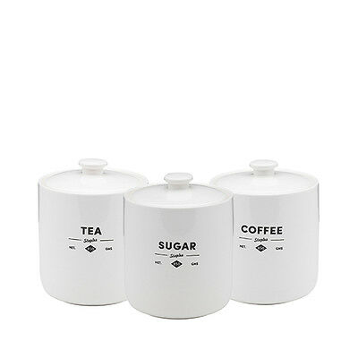 NEW Ecology Staples Foundry Canisters Set of 3