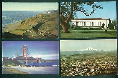 "1939 Union Oil Co. ""See The West With 76 Gasoline"" Postcards Group of 12"