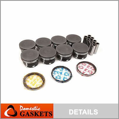 03-08 Dodge Ram Chrysler Jeep 5.7L HEMI V8 OHV Pistons and Rings Set VIN 2 D H