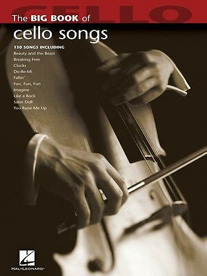 Brand New BIG BOOK OF CELLO SONGS Sheet Music