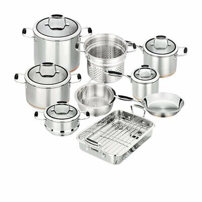 NEW Scanpan Coppernox 9pc Cookware Set (RRP $1499)