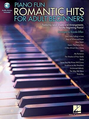 Brand New PIANO FUN ROMANTIC HITS FOR ADULT BEGINNERS Sheet Music