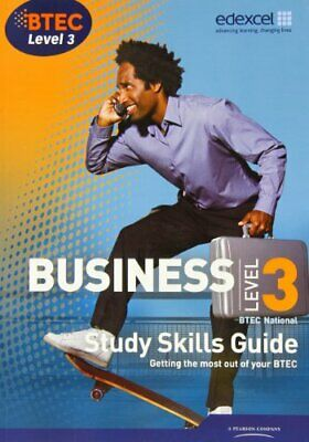 BTEC Level 3 National Business Study Guide by Bevan, Mr John Book The Cheap Fast