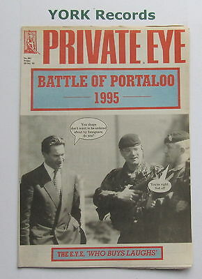 PRIVATE EYE MAGAZINE - Issue 883 - Friday 20 October 1995
