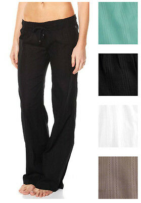 BILLABONG New Ladies Cotton Beach Pants Size (8 10 12 14)