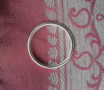 001 Solid 925 sterling silver ring sz O/Q rrp$19.95