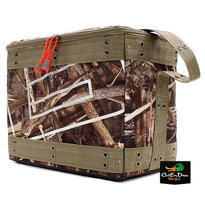New Banded Gear 12 Pack Soft Sided Zip Top Cooler Bag Realtree Max-5 Camo
