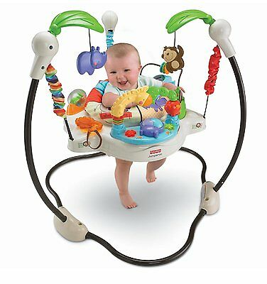 Fisher-Price Luv U Zoo Jumperoo model number V0206 Plastic, Polyester, Metal NEW