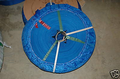 "25 Meter Roll Of 2"" Flat Discharge Hose For Waterpumps"