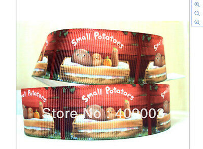 Small Potatoes Ribbon for cake decorating or scrap booking