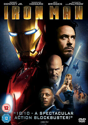 Iron Man DVD (2013) Robert Downey Jr, Favreau (DIR) cert 12 Fast and FREE P & P