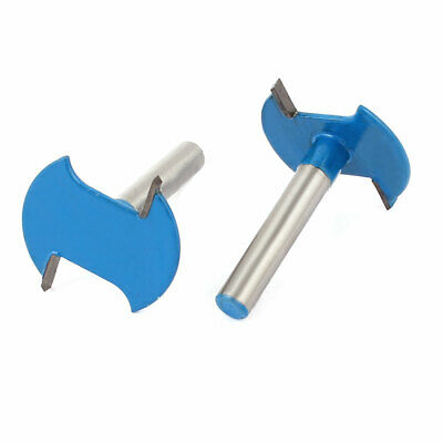 "1/4"" Shank Joint Cutter Jointing Slotting Slot Router Bit 2pcs"