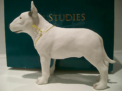 English Bull Terrier Ornament Figure Figurine Model Gift *New in box*