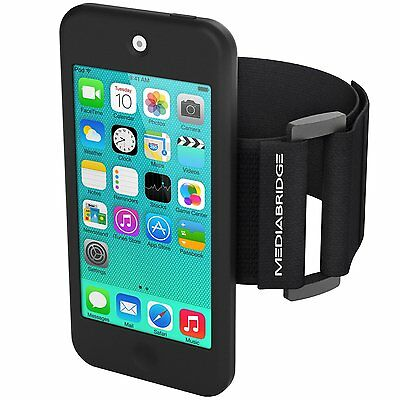 Mediabridge Armband for iPod Touch - 5th / 6th Generation ( Black ) NEW BRAND