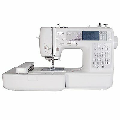 Brother SE400 Combination Computerized Sewing and 4x4 Embroidery Machine HVI
