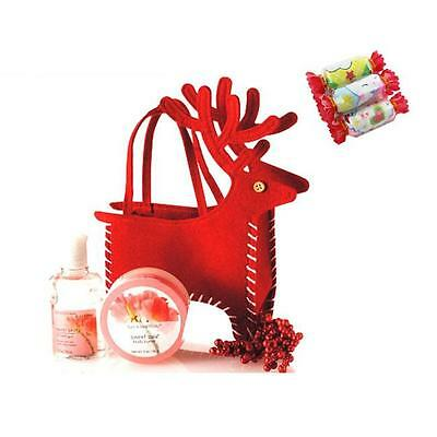 XMAS Christmas Santa Candy Bag Elk Deer Treat Pocket Party Decoration Gifts B