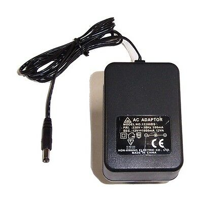 Hon-Kwang 12100BS 12V 1000mA AC Adaptor- 5mm Barrel Connector
