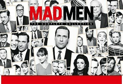 MAD MEN The Complete Collection BOX 24 DVD in Inglese NEW PRENOTAZ.