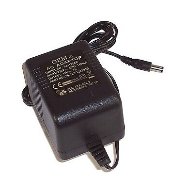 ZyXEL 30-123-122201B 12V 1A UK Plug AC Adapter- OEM Model: AA-121AD