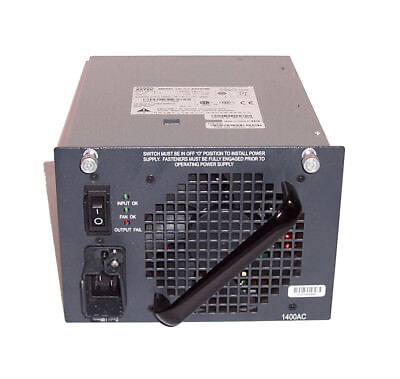 Cisco 341-0042-04 PWR-C45-1400AC V04 AA24280 1400W Power Supply For 4510R Switch