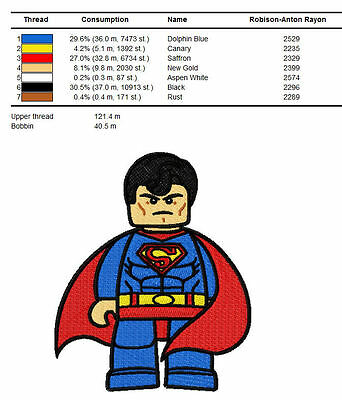 Lego  Pes Embroidery Designs For Brother Machine ...Cd...