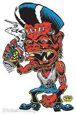 Rumble Fiend Sticker Decal Dirty Donny DD42