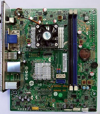 HP 647985-002 H-AFT1-UDTX-1 REV:1 01 PC System Motherboard w/ AMD E-450 APU