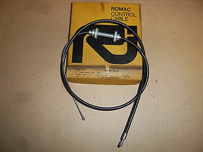 Amc All Singles & Twins Front Brake Cable 1958 02-4368 02-3679 Uk Made Nos T572