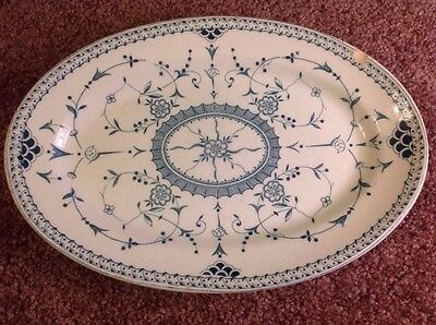 L. Straus & Sons New York Vitrified England Imperial Oval Platter
