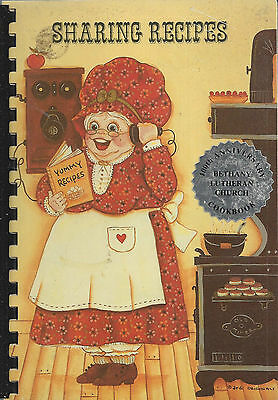 *hatton Nd 1987 Sharing Recipes Cook Book *bethany Lutheran Church *north Dakota