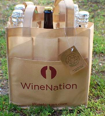 12-6 Bottle Wine Totes by EcoBrands