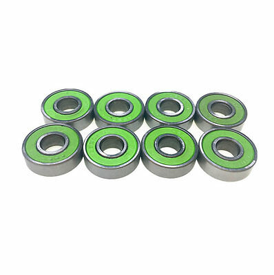 8 x ABEC 11 Skateboard Longboard Scooter Inline 608 Bearings BRAND NEW