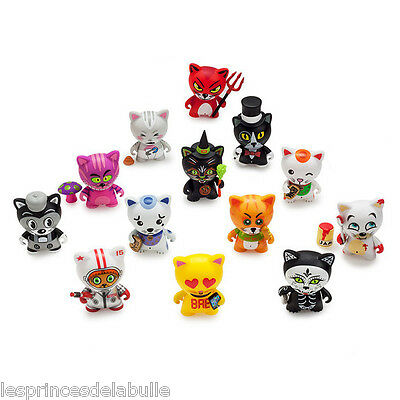"Tricky Cats 3"" Series - x1 Blind-Box Figure / Figurine by Kidrobot style Dunny"