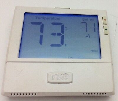 Pro1 IAQ 1 Heat 1 Cool Push Button Non Programmable Thermostat T801