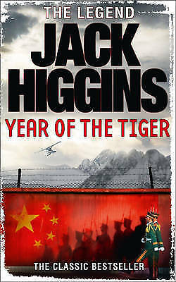 Year of the Tiger by Jack Higgins, Book, New (Paperback)