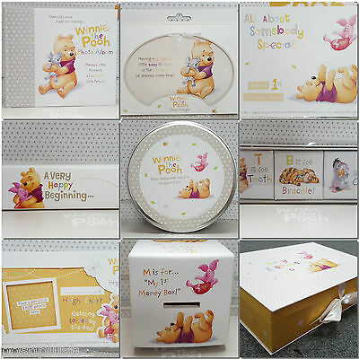 Hallmark Limited Edition Disney New Baby Winnie the Pooh Gift Range Collection