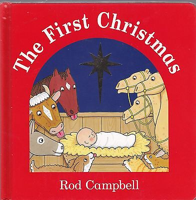 The First Christmas by Rod Campbell, Book, New Board Book