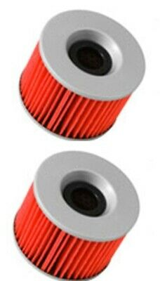 Oil Filter 2 Pack For Yamaha Xjr1300 2002 2003 2004 2005 2006 2007 2008 2009