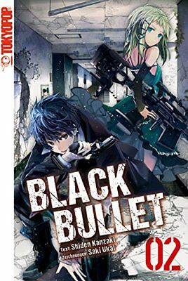 Black Bullet Novel Band 2 Tokyopop NEU!